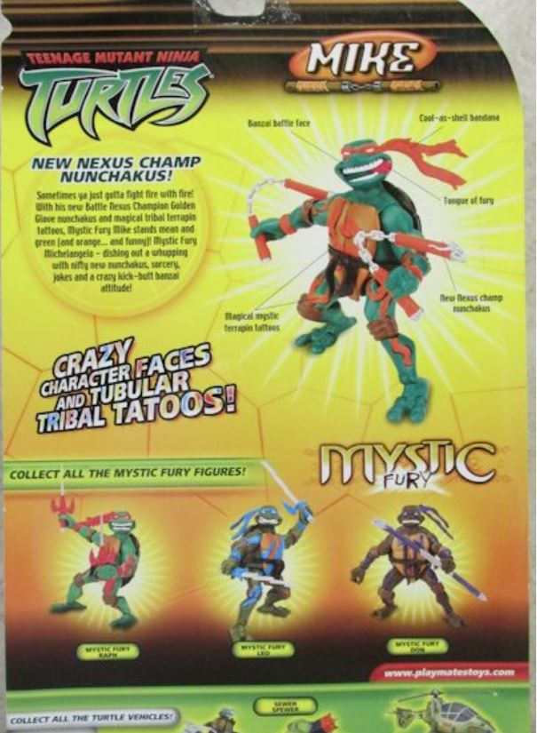 Mystic Fury Mike (2005 action figure)