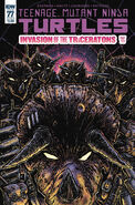 TMNT -77 Subscription Cover by Kevin Eastman