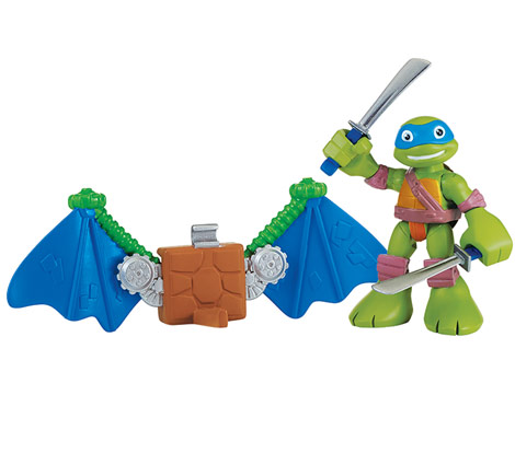 Half-Shell Heroes Leo with Glider (2014 action figure)