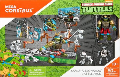 Samurai Leonardo Battle Pack (2017 Mega Construx set)