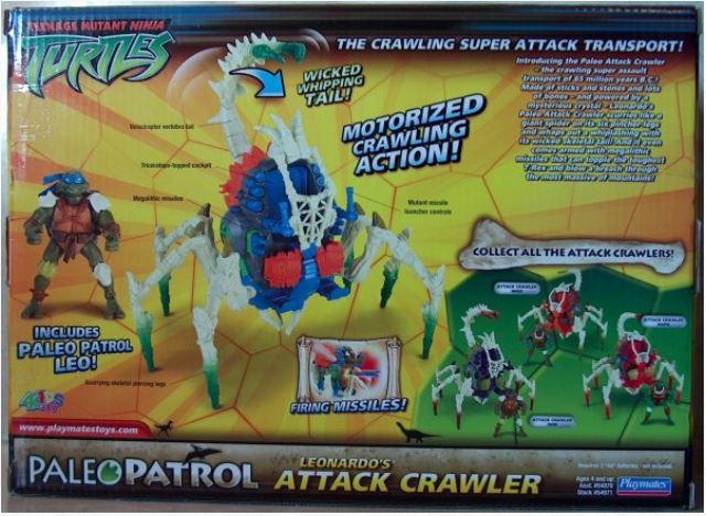 Paleo Patrol Leonardo's Attack Crawler