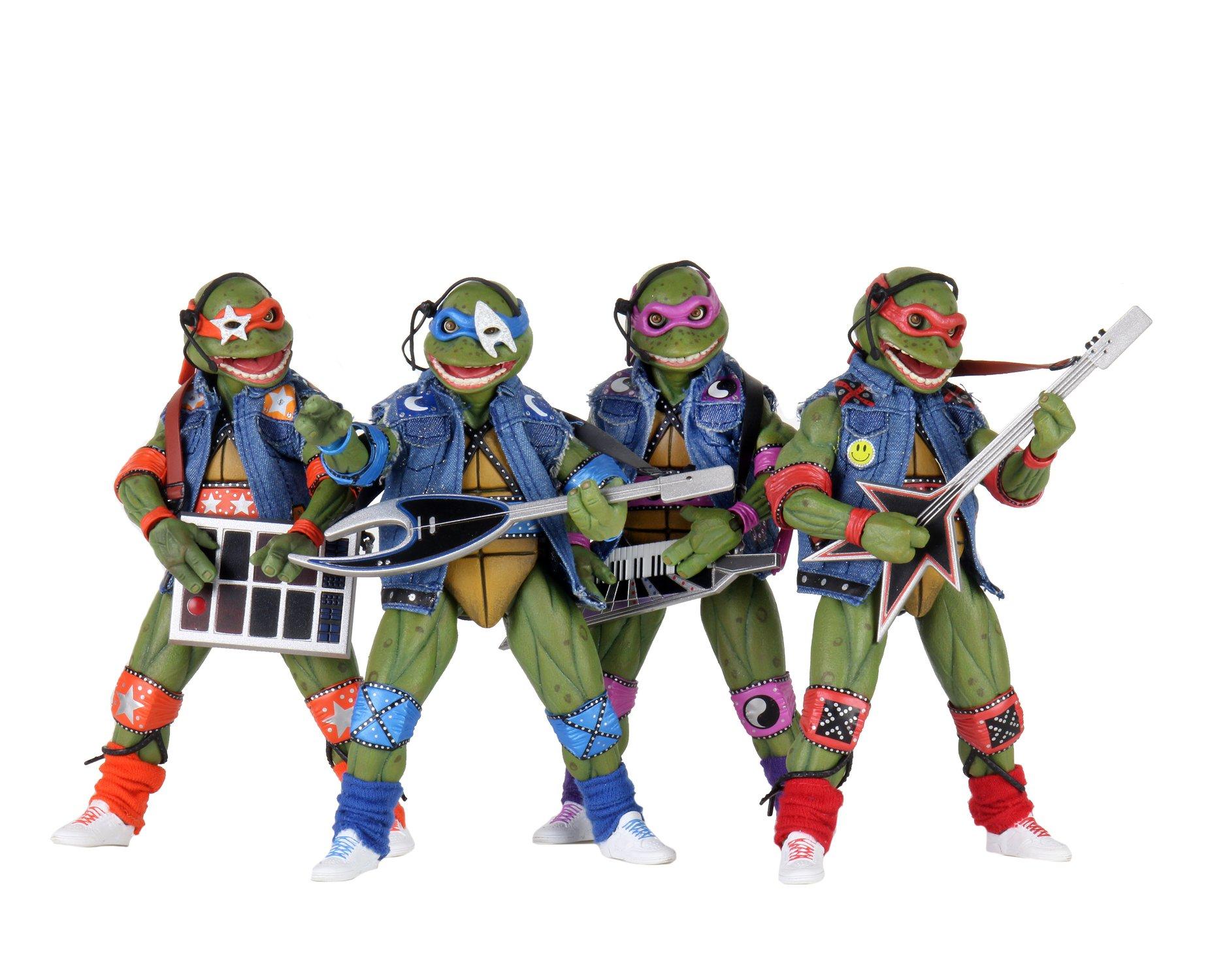 Musical Mutagen Tour 4 Pack (2020 action figures)