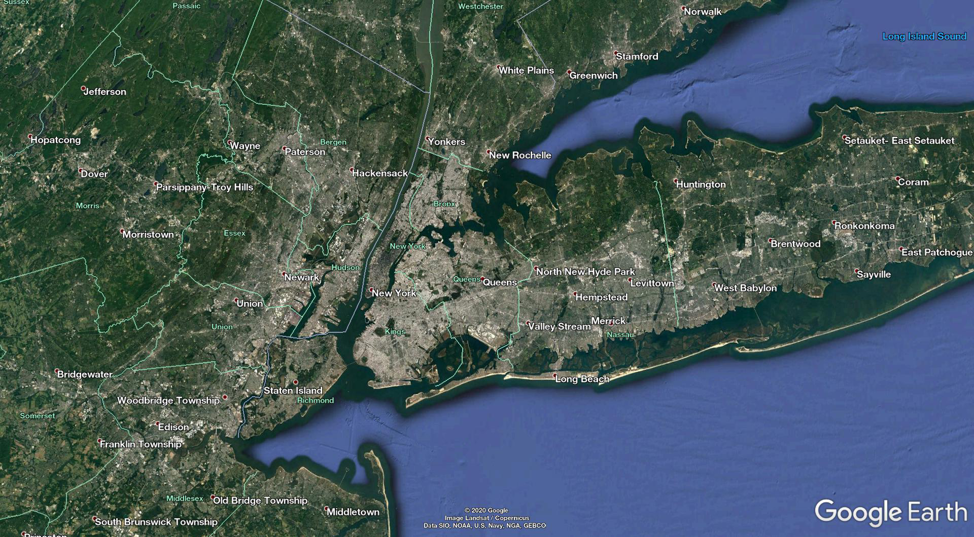 New York City metropolitan area