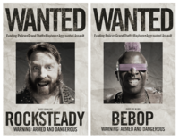 Bebop Rocksteady Wanted