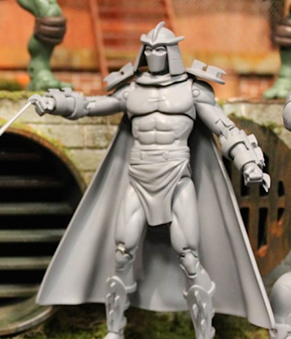 Classic Collection Shredder (Unreleased action figure)