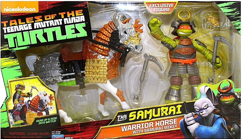Warrior Horse with Samurai Mikey (2017 action figure)