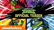 Rise of The Teenage Mutant Ninja Turtles!! 🐢 NEW Series Official Teaser - Nick