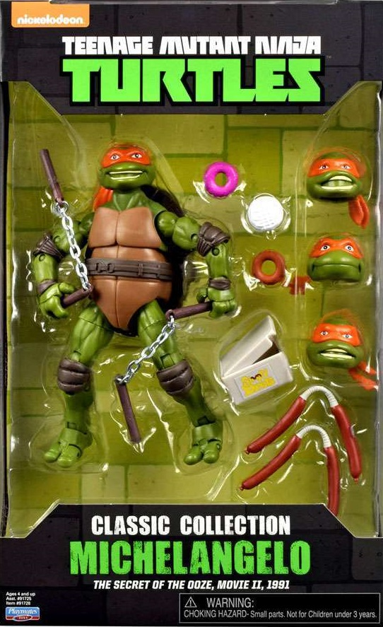 Classic Collection Michelangelo (2016 action figure)