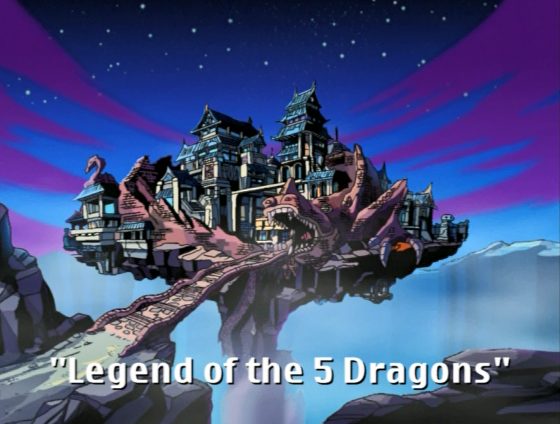 Legend of the 5 Dragons