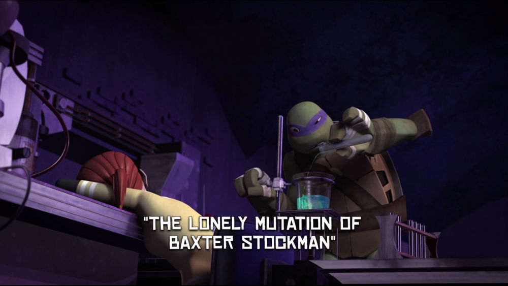 The Lonely Mutation of Baxter Stockman