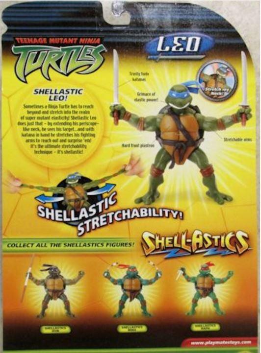 Shell-Astics Leo (2005 action figure)