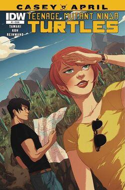TMNT- Casey & April -1 Regular Cover by Irene Koh.jpg
