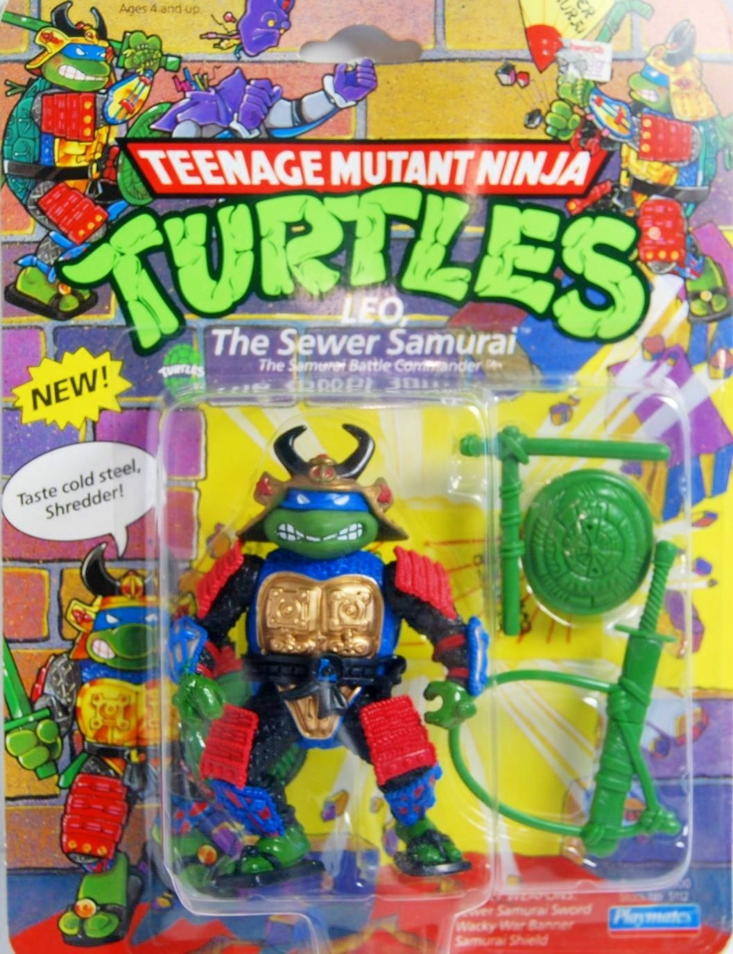 Leo, the Sewer Samurai (1990 action figure)