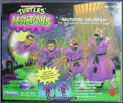 Mutatin' splinter action figure 1992
