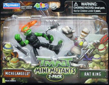 Michelangelo vs. Rat King (2007 action figure set)