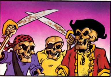 Skeleton Pirate (TMNT Magazine)