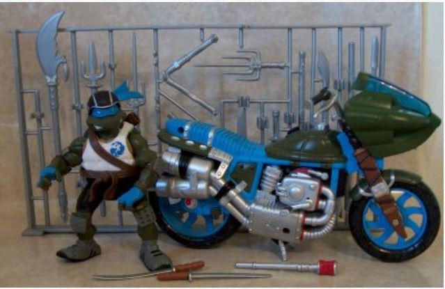 Battle Bike Leonardo (2004 action figure)