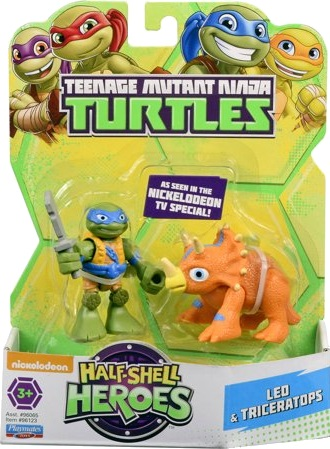 Half-Shell Heroes Leo & Triceratops (2015 action figure)
