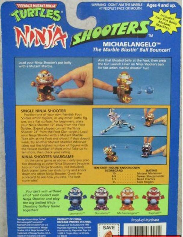 Ninja Shooter Michaelangelo