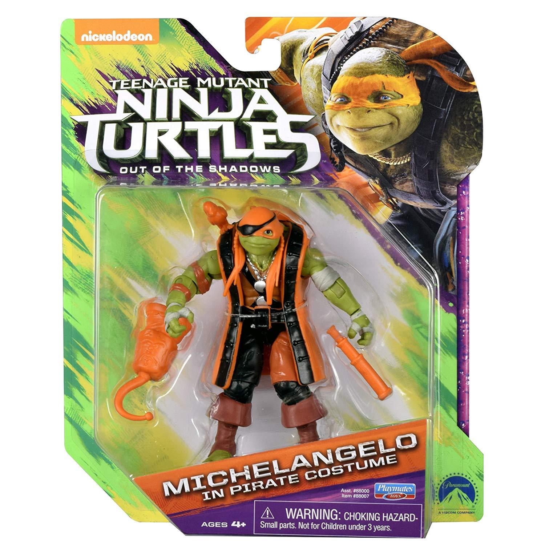 Michelangelo in Pirate Costume (2016 action figure)