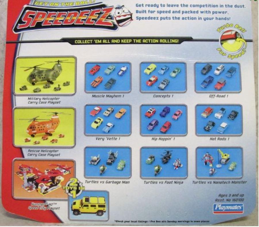 Speedeez Foot Ninja Set