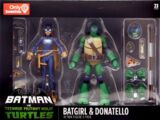 Batgirl & Donatello (2019 action figure set)
