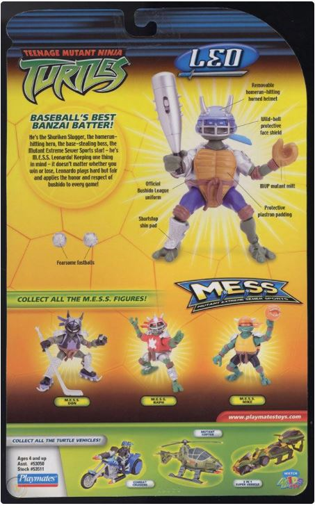 M.E.S.S. Leo (2005 action figure)