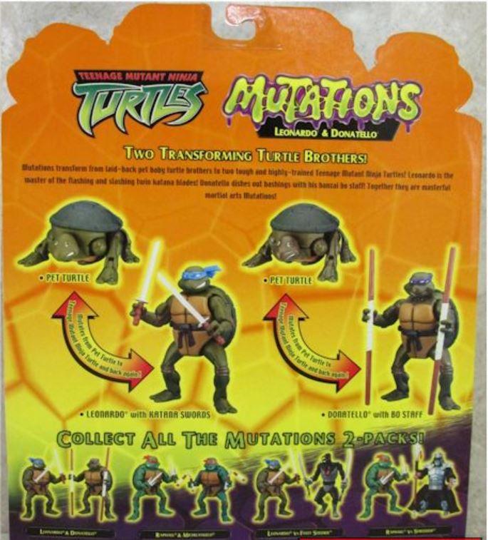 Mutations Donatello and Leonardo (2004 action figure)