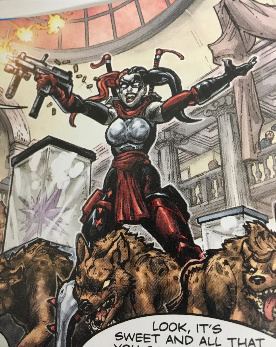Harley Quinn (Crisis in a Half Shell)