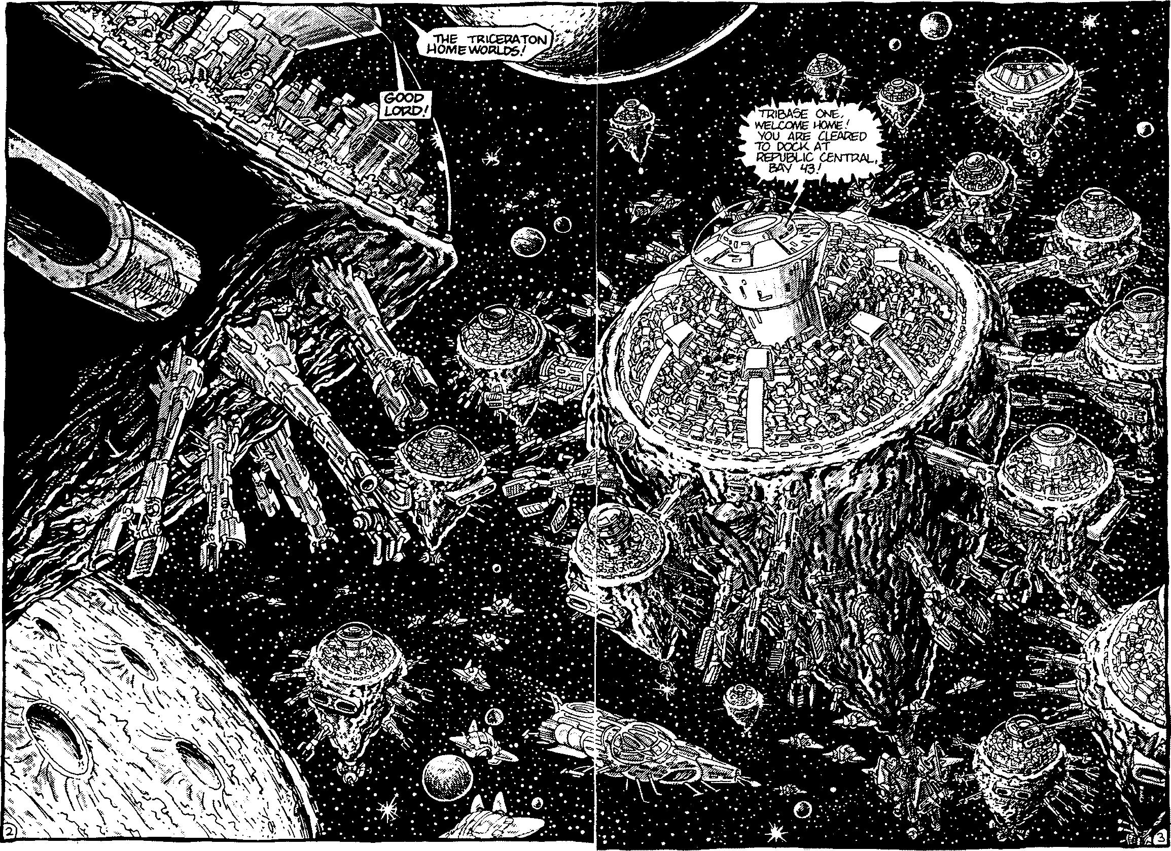 Triceraton Homeworlds (Mirage)