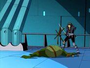 Leo being murdered