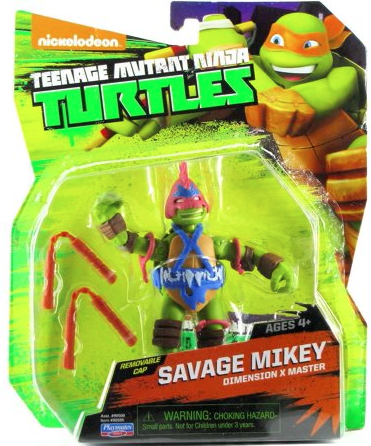 Savage Mikey (2015 action figure)