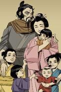 Five Hamato children