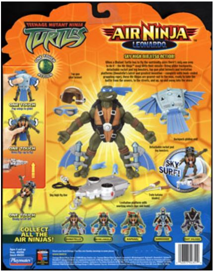 Air Ninja Leonardo (2004 action figure)