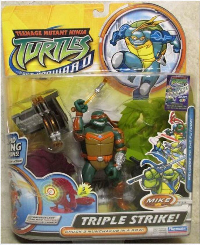 Triple Strike! Mike (2006 action figure)