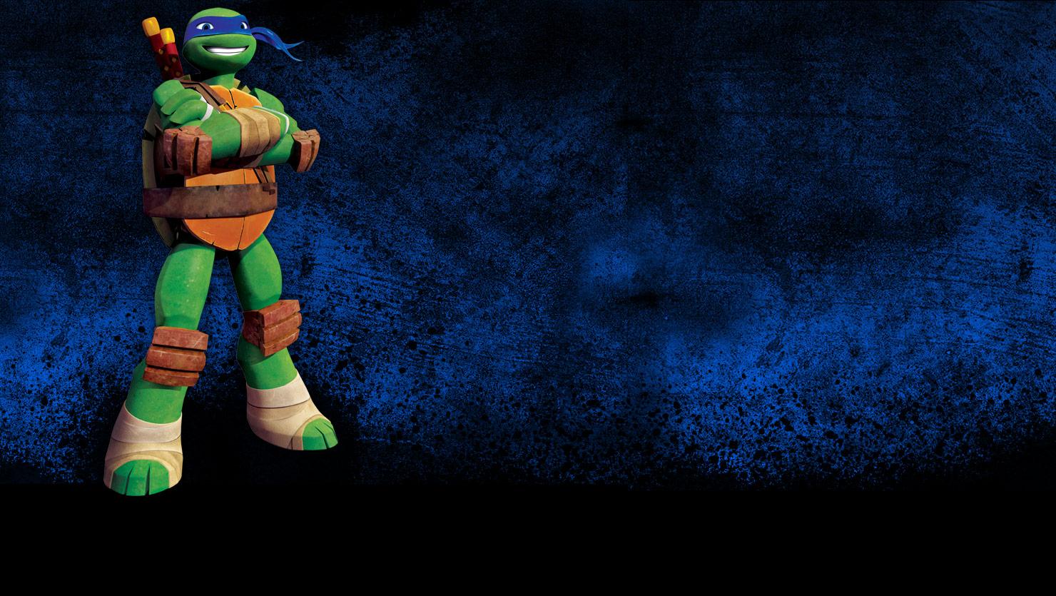 TMNT 2012 Leonardo wallpaper.jpg