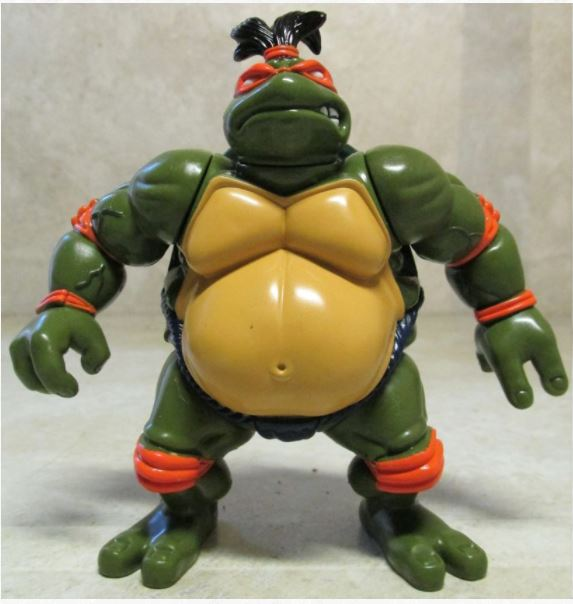 Sumo Michaelangelo (1995 action figure)