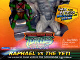 Raphael vs the Yeti (2005 action figure set)