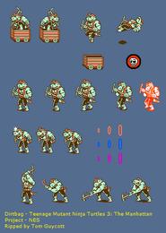 NES - Teenage Mutant Ninja Turtles III The Manhattan Project - Dirtbag
