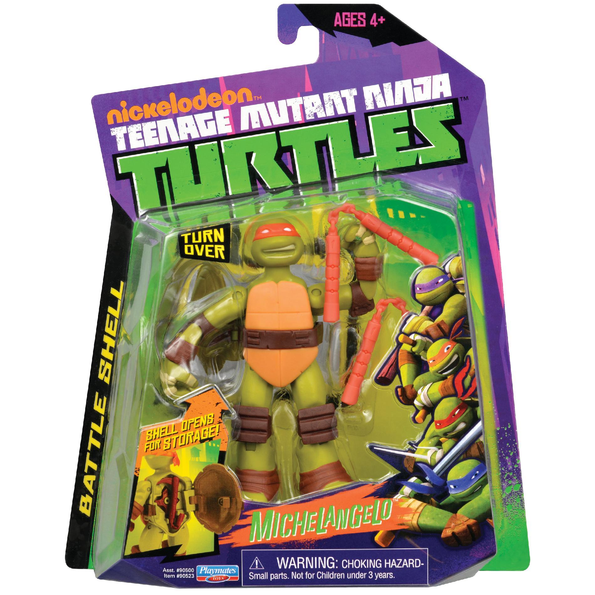 Battle Shell Michelangelo (2013 action figure)