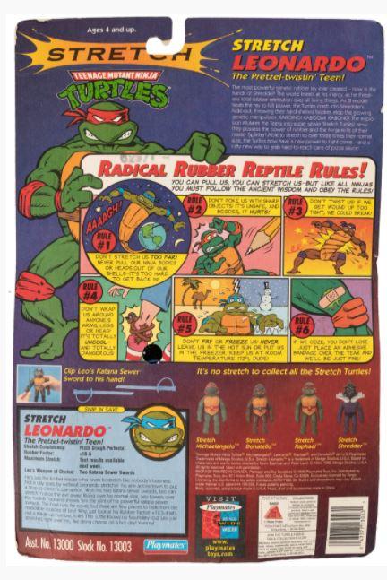 Stretch Leonardo (1996 action figure)