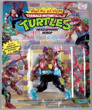 Head Spinnin' Bebop (1991 action figure)