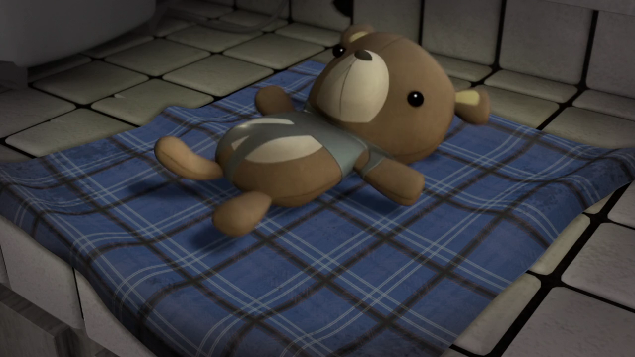 Michelangelo's teddy bear