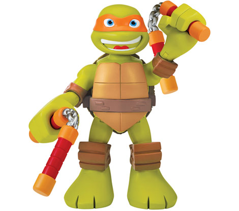 """Half-Shell Heroes 6"""" Talking Mikey (2014 action figure)"""