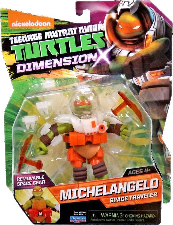 Dimension X Michelangelo (2015 action figure)