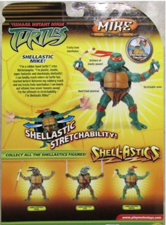 Shell-Astics Mike (2005 action figure)