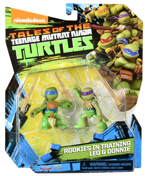 Rookies in Training Leo and Donnie (2017 action figure)