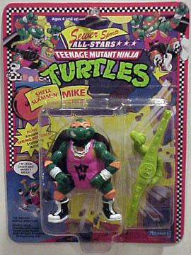 Shell Slammin' Mike (1991 action figure)