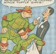 Crooked Ninja Turtle Gang (Archie)