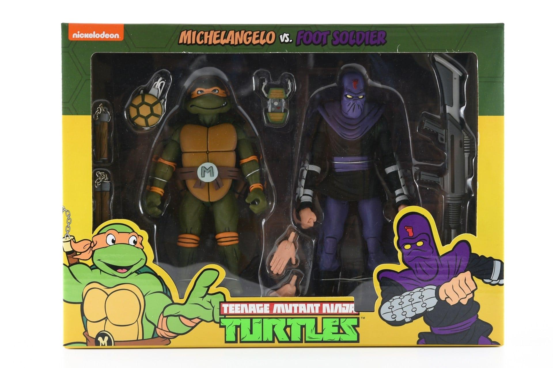 Michelangelo vs. Foot Soldier (2019 action figures)